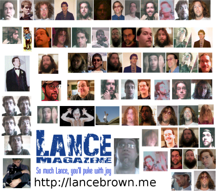 The many faces of Lance Magazine